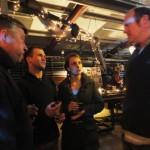 Hamish, Joe, Fran and Ben