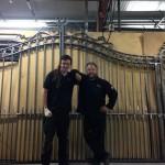 Jason Balchin and James Cuthbertson - Ironart of Bath