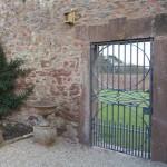 Kitchen garden gate restoration